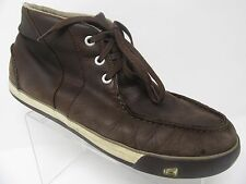 Keen Timmons Chukka Brown Leather Ankle Boots Men's Size 14