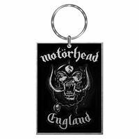 Motorhead England Logo Metal Keyring Keychain - Rock Music Gifts
