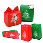 50pcs Christmas Gift Bags Package Bag Xmas Gift Decor Christmas Tree Candy  xe