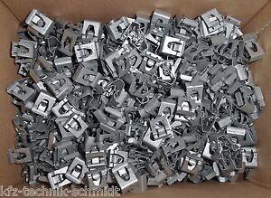 10x Clips Klammer für Verkleidung / Zierleisten Audi Seat Skoda VW C 003 867 396