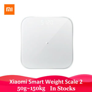 Xiaomi Mi Smart Scale 2 Bluetooth APP Monitor Hidden LED Display Fitness Monitor