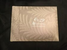 25th Silver Anniversary Guest Book Album