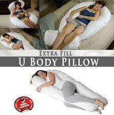 Maternity Body Pillow 9 Ft Comfort U Back Support Pregnancy Nursing Orthopaedic