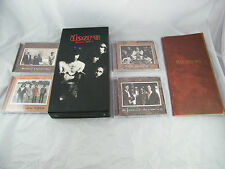 THE DOORS BOX SET ~ 4  CDS AND BOOK ~   62123-2 ~  NICE SHAPE