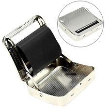 70mm Metal Automatic Cigarette Tobacco Smoking Rolling Machine Roller Box Fancy