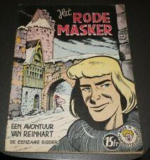 Ridder Reinhart Nr.5 - Het rode masker (1ste druk - °1960)