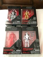Star Wars 3.75in Figures Lot of 4 from Last Jedi: Phasma,Executioner,Praetorian