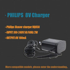 New PHILIPS HQ850 8V Charger AC Adapter For HQ912 HQ914 HQ9415  XA2029 BG2028 US