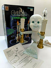Casper the Ghost Candelabra 1996 Trendmasters Light w/Box Candle Flicker