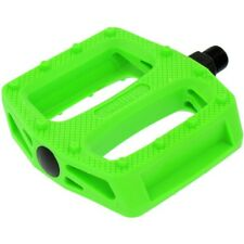 "Wellgo B109N Resin Bmx Pedals 9/16"" Solid Green"