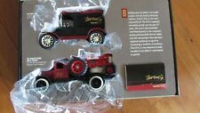 Ertl Signature Edition collectible 2 truck set Hawkeye flatbed and 1930 Ford van