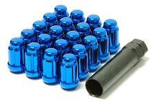 MUTEKI Lug Nuts 12x1.5 Blue 20pcs Closed Accord/Civic/S2000