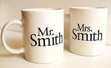 Original MR. & MRS. SMITH Official Movie Promo Mug Set Brad PITT Angelina JOLIE