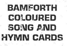 Bamforth coloured song card Check List 20 PAGES