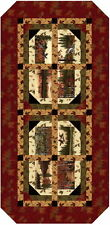 Northwoods Table Runner Quilt Kit - Pattern + Moda Fabric Holly Taylor