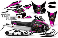 Yamaha FX Nytro 08-14 Graphics Kit CreatorX Snowmobile Sled Decals TOP FUEL PB