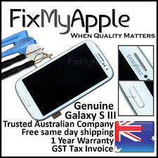 Samsung Galaxy S III S3 4G i9305 White LCD Touch Screen Digitizer Frame Assembly