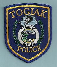 TOGIAK ALASKA POLICE PATCH