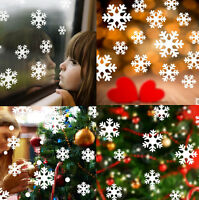 Removable White Snowflake Frozen Decal Window Wall Sticker Vinyl Art Xmas Decor