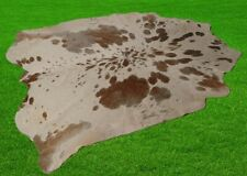 """New Cowhide Rugs Area Cow Skin Leather 30.69 sq.feet (68""""x65"""") Cow hide A-5323"""