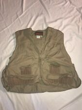 Vintage Fishing Vest Avid Outdoor Size Large 42–44 *Euc*