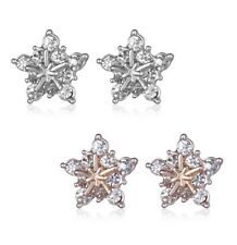 Unbranded Round Rhinestone Stud Costume Earrings