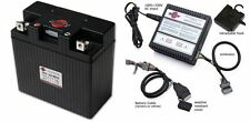 Shorai Lithium Motorcycle Battery LFX27A3-BS12 + Charger SHO-BMS01 Combo Package