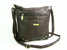 Faux Leather Messenger Bags