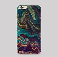 Oil Spill Colourful Pattern Phone Case Cover