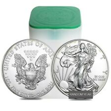Roll of 20 - 1 oz Silver American Eagle (Cull, Damaged, Circulated, Cleaned)