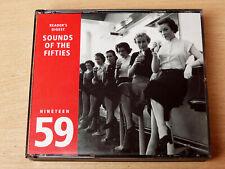 Sounds Of The Fifties/1959/2002 3x CD Album/Fat Box/Russ Conway/Adam Faith
