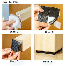 12pcs/48pcs Furniture Legs Feet Sticky Mat Pad Protect Wood Floor Scratch Proof