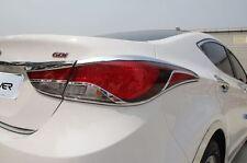 Gen Chrome Rear Tail Light Cover Molding Trim for Hyundai Elantra 2014 - 2015