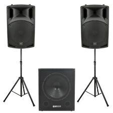 DJ - & PA-Sets mit Subwoofer