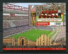 Armenia 2017 MNH AC Milan Intercontinental Football Cup Winners 1v M/S Sports