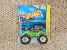 BNIB Hot Wheels Monster Jam Truck Machine Grave Digger Die Cast .