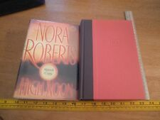 High Noon Nora Roberts SIGNED HBDJ 1st edition book 2007
