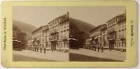 A.Schmidt Pforzheim & Wildbad Germania, Foto Stereo Vintage Albumina