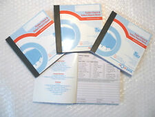 4 x Trailer Check & Defect Report Books Pad 50 Duplicate pages