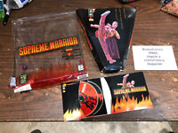 RARE Supreme Warrior  (PC, 1994) 2 Disk Set PC CD-ROM Game Very Hard To Find
