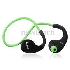 Écouteurs verts sports