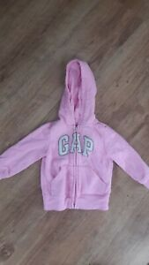 Pink Baby GAP Hoodie Age 12-18 months Good Condition