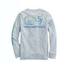 "Boys XL NWT Vineyard Vines ""Vintage Whale"" Edgartown L//S T-Shirt - Youth 18"