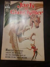 JACK THE GIANT KILLER / DELL / COMIC BOOK / FILM ADAPTATION / 1962 / FANTASY