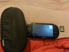 PS Vita Consola 1 juego y el caso