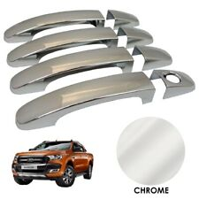 CHROME Door Handle Covers for Ford Ranger T6 2016+