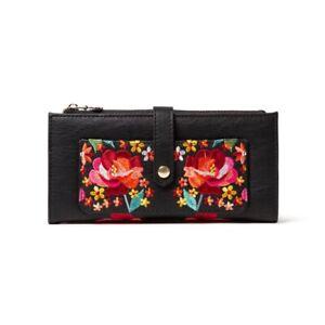 New  Spanish Desigual women's Fashion retro fashion embroidery short Wallet