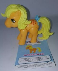 My Little Pony Wave 1 The Loyal Subjects G1 Style APPLEJACK Vinyl Action Figure