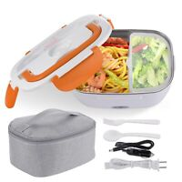 1.5L Electric Lunch Box Food Warmer Heater Car Office Container Storage 2 Pack