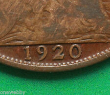 1920 George V Penny Blocked 2 in date SNo39373